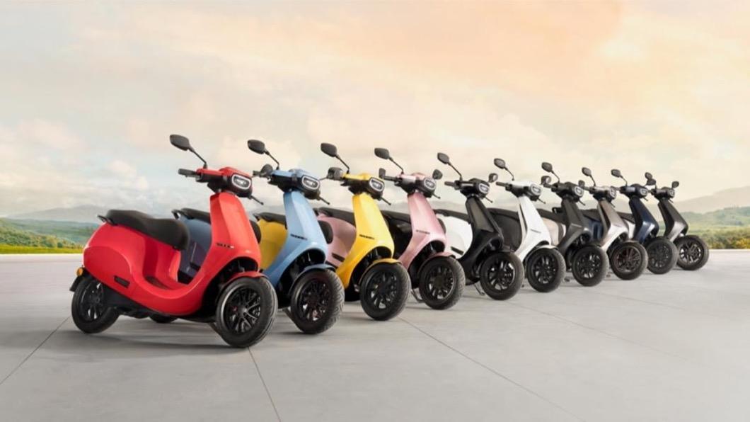 Ola Electric執行長透露未來將推出10種顏色供消費者選擇。(圖片來源/ Ola Electric) Ola電動速克達10種配色超豐富! 印度售價僅3.7萬台幣就能入手