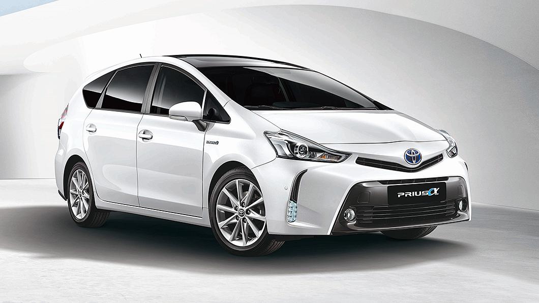Toyota預告Prius α將在9月停產。(圖片來源/ Toyota) Prius α預告9月停產走入歷史 Toyota油電5+2座吹響告別曲