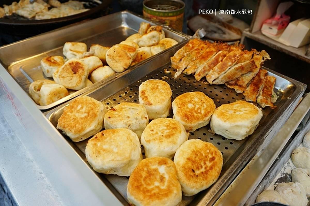 前總統御用早餐!「西點酵母水煎包」厚實麵皮口感像煎餅,飽嘴韭菜盒餡料豐富也必嘗