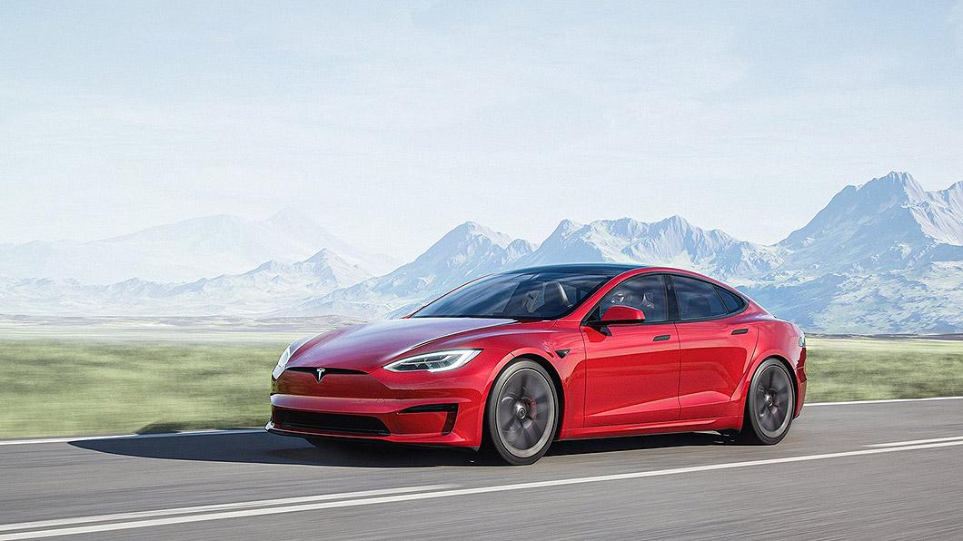 先前Tesla Model S Plaid被人看到出現在Nurburgring北賽道,如今已創下最速量產電動車的紀錄。(圖片來源/ Tesla) Model S Plaid削紐柏林電動車紀錄 比Taycan足足快12秒 !