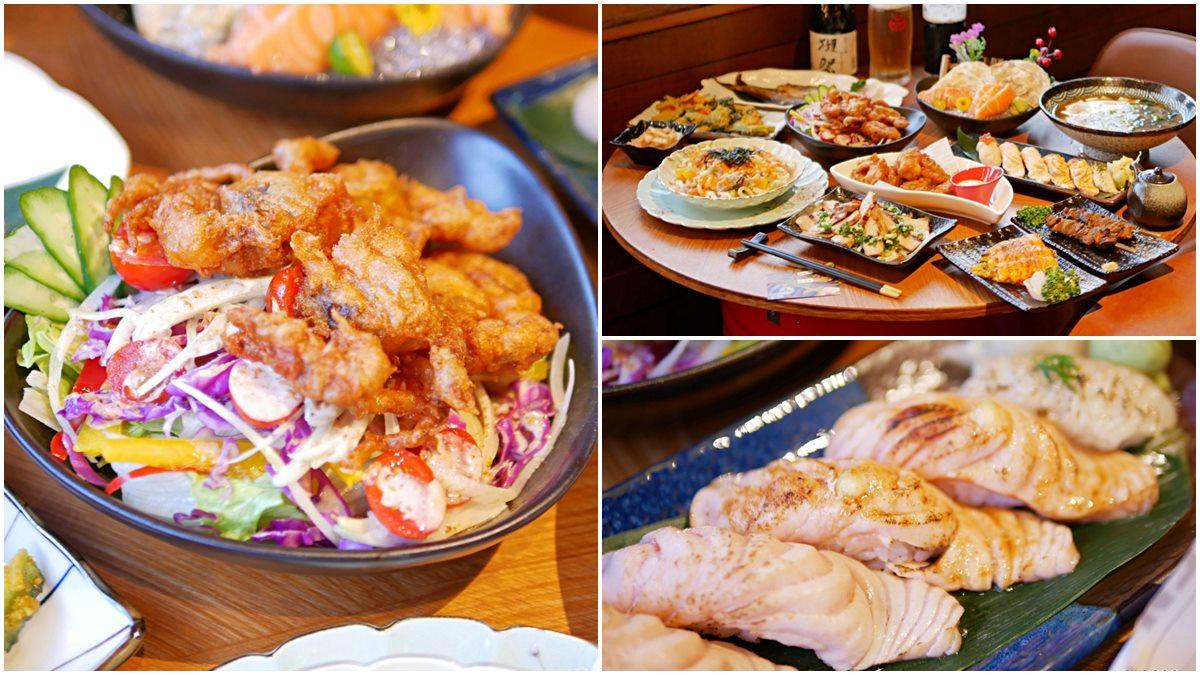 五星級主廚坐鎮!道地居酒屋必點微甜「焦糖鮭魚握壽司」,薄皮酥炸軟殼蟹愈咬愈唰嘴