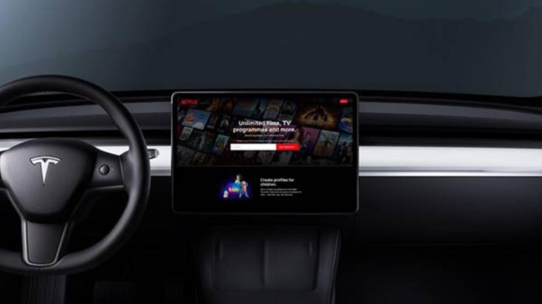 在所有Tesla車款當中,劇院模式最受Model 3車主歡迎,超過70%的車主每週至少觀看一次以上。(圖片來源/ Tesla) Tesla劇院模式超受車主歡迎 充電看劇等待不無聊