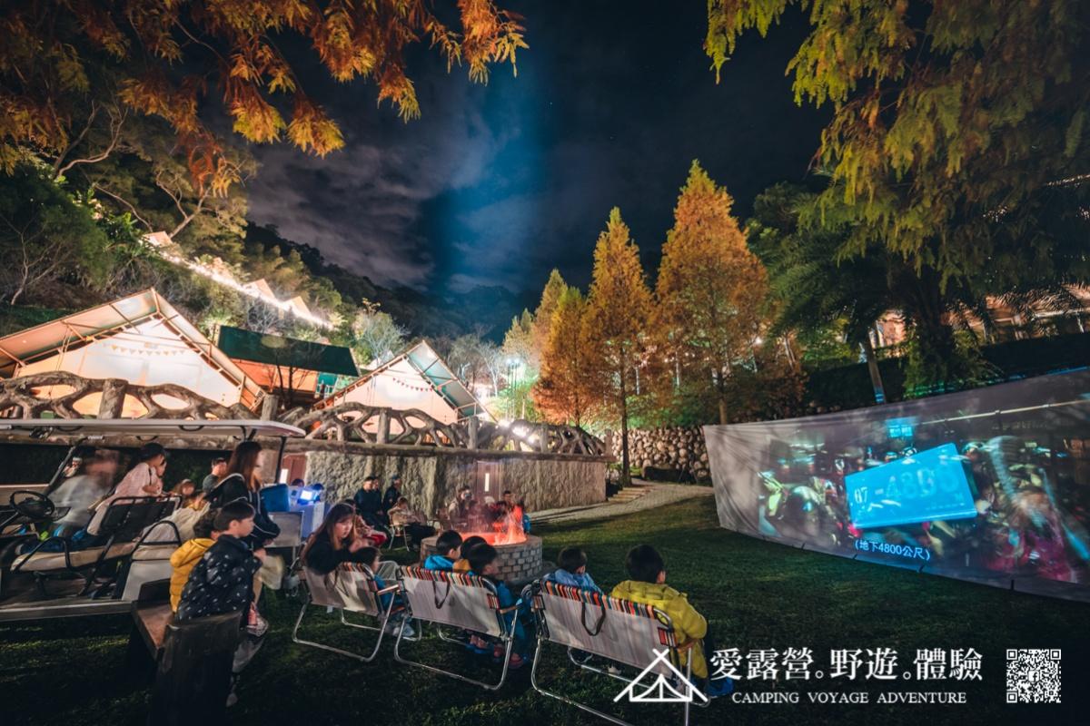 懶人露營首選!全新豪華露營區「斑比跳跳」,一泊四食、划獨木舟、星空電影院超享受