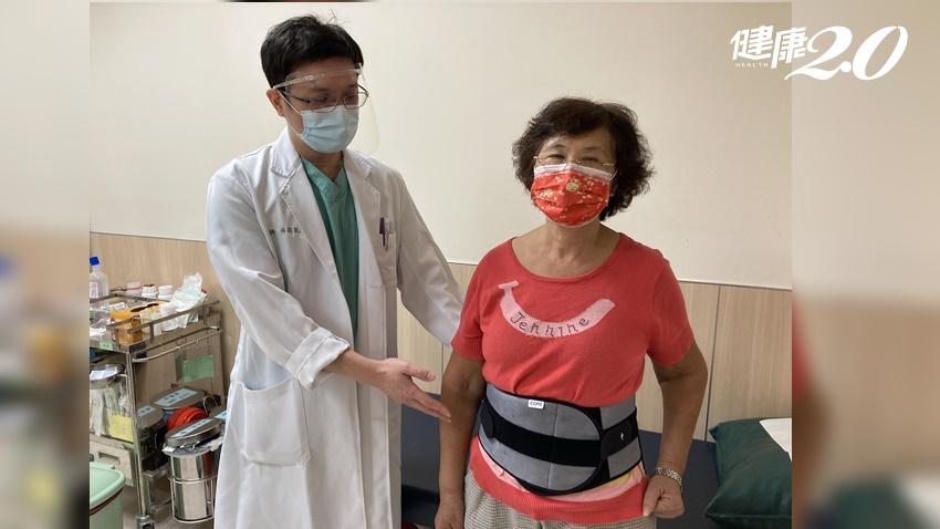 50+女性注意!她「脊椎跑掉」坐立難安 脊椎減壓及融合手術恢復活動力