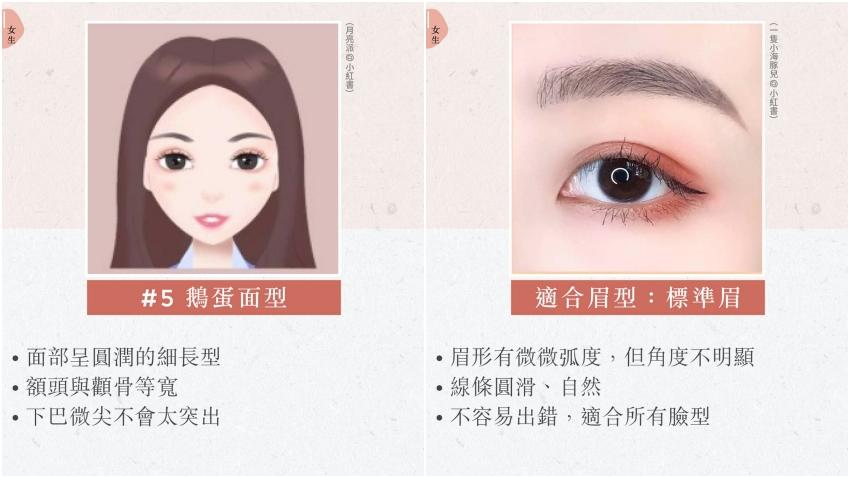 1支眉筆讓不同臉形瞬間減齡!長臉要畫平眉 圓臉畫這眉形可變小臉