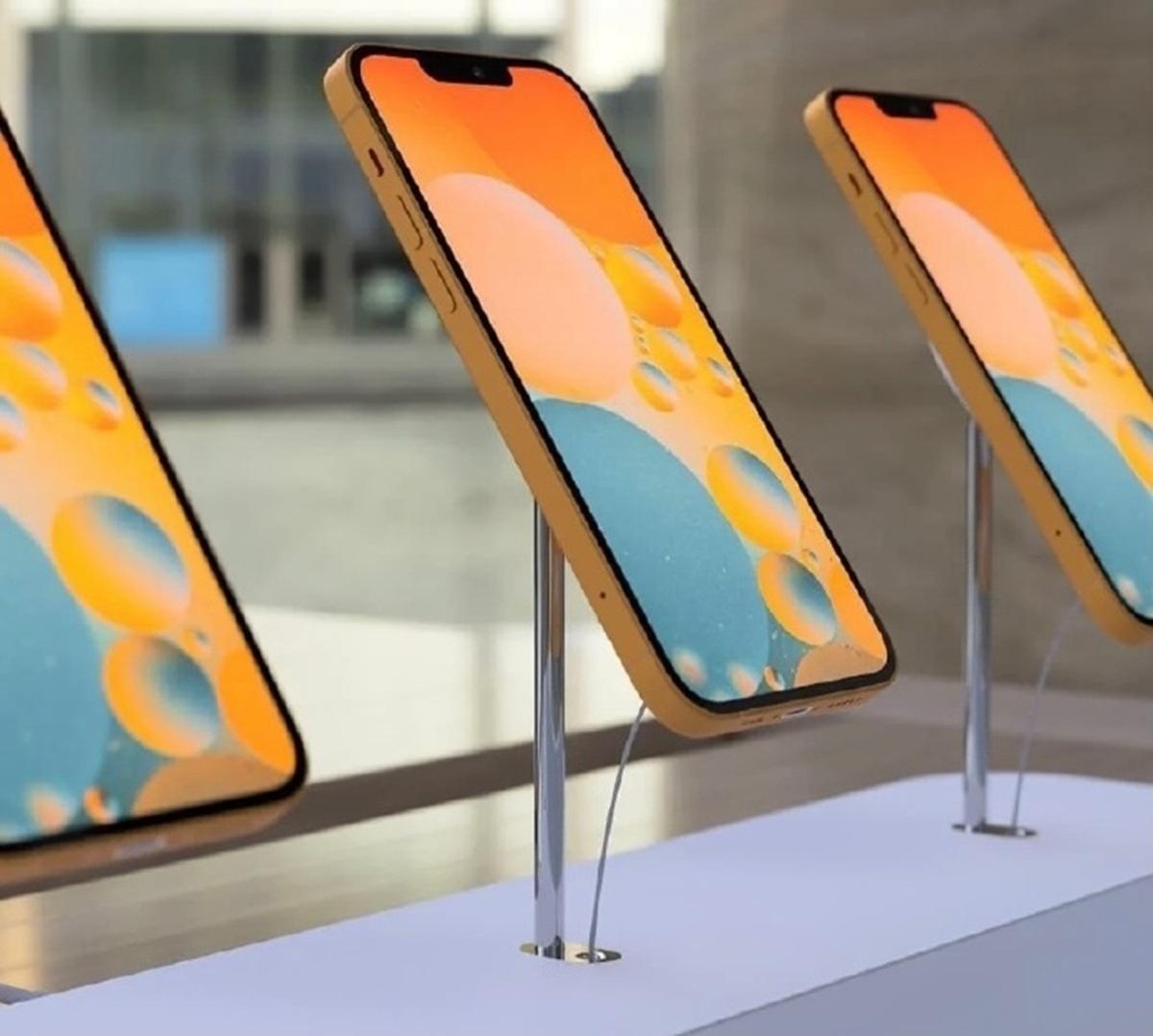 果粉夏天來了!iPhone 13將出現「芒果色」,相機「人像模式」拍影片也能用