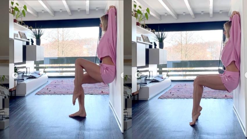 一個動作變化出多種訓練 輕鬆瘦腿、練蜜桃臀、改善梨形身材