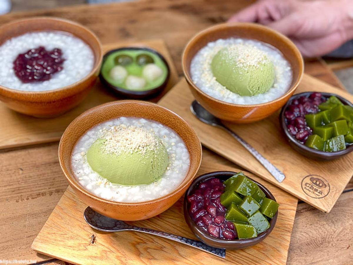 網美打卡必吃!老宅「薏仁湯」淋現涮抹茶超濃郁,再搭手作白玉、冰淇淋口感更豐富