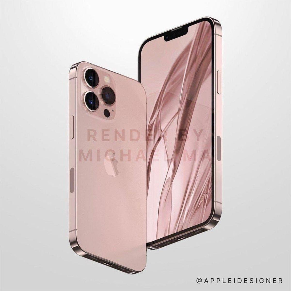 少女心果粉注意!iPhone 13「草莓玫瑰粉」將出現,升級版鏡頭會有「大小眼」