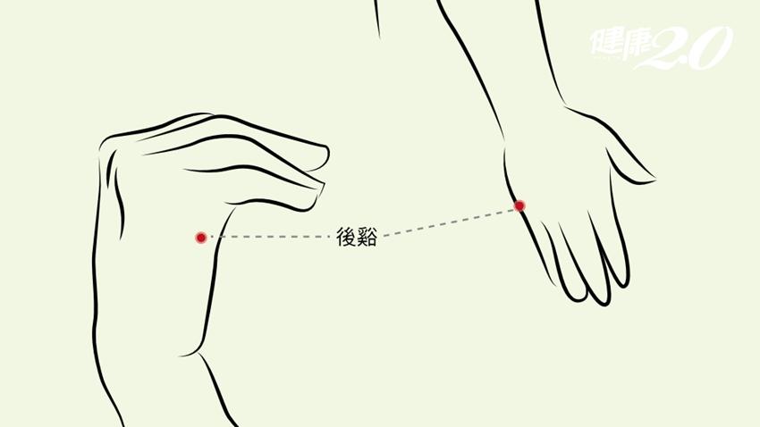 1穴讓疲勞退散!敲敲「外手掌」保健脊椎 改善頸肩痠痛、增強免疫力