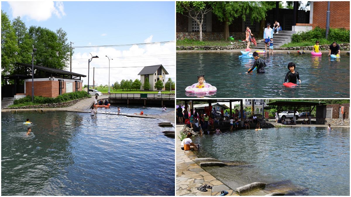 馬路旁就能玩水!免費戲水區泡「天然湧泉」超涼快,小孩最愛水中「迷你溜滑梯」