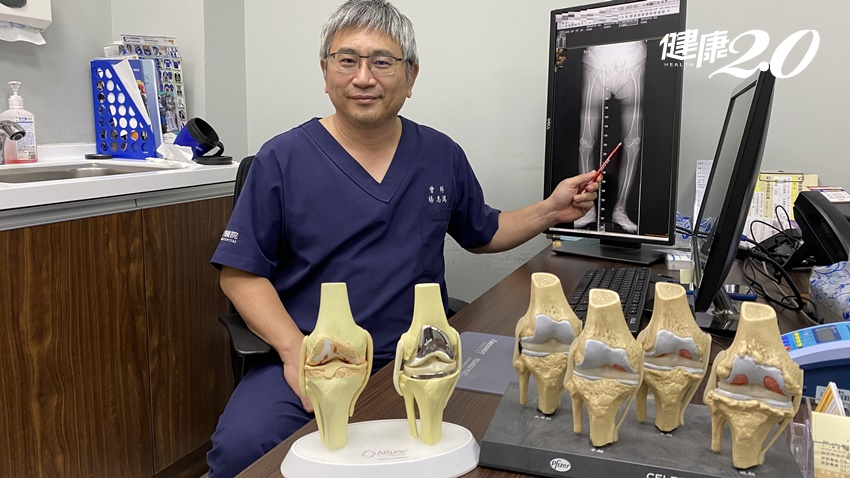 再也不忍了!87歲阿嬤膝蓋痛61年,做雙膝微創手術當天解痛馬上趴趴走