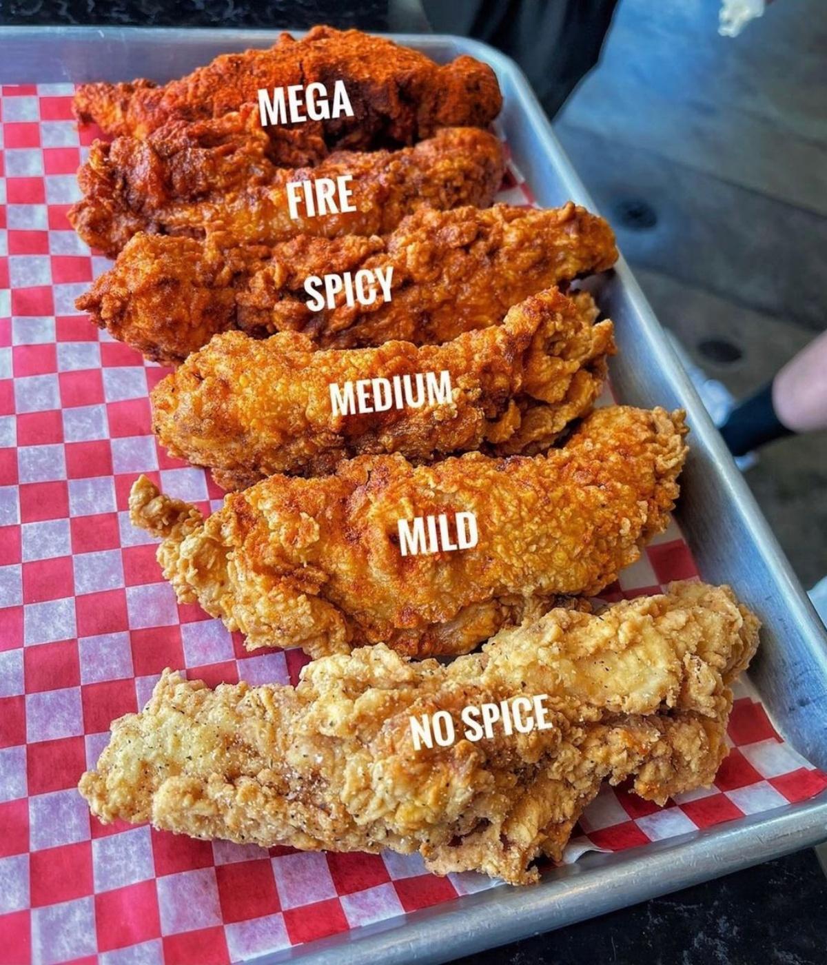 美式炸雞Hotties Fried Chicken登台!招牌「辣爹炸雞堡」6種辣度+特調沾醬任你選