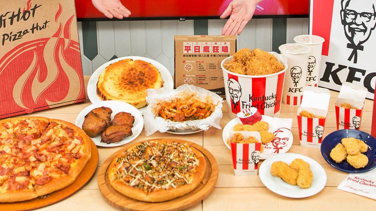 披薩、炸雞也能「寄杯」!必勝客、肯德基5天限時好康,最低35折爽吃炸雞桶和大披薩