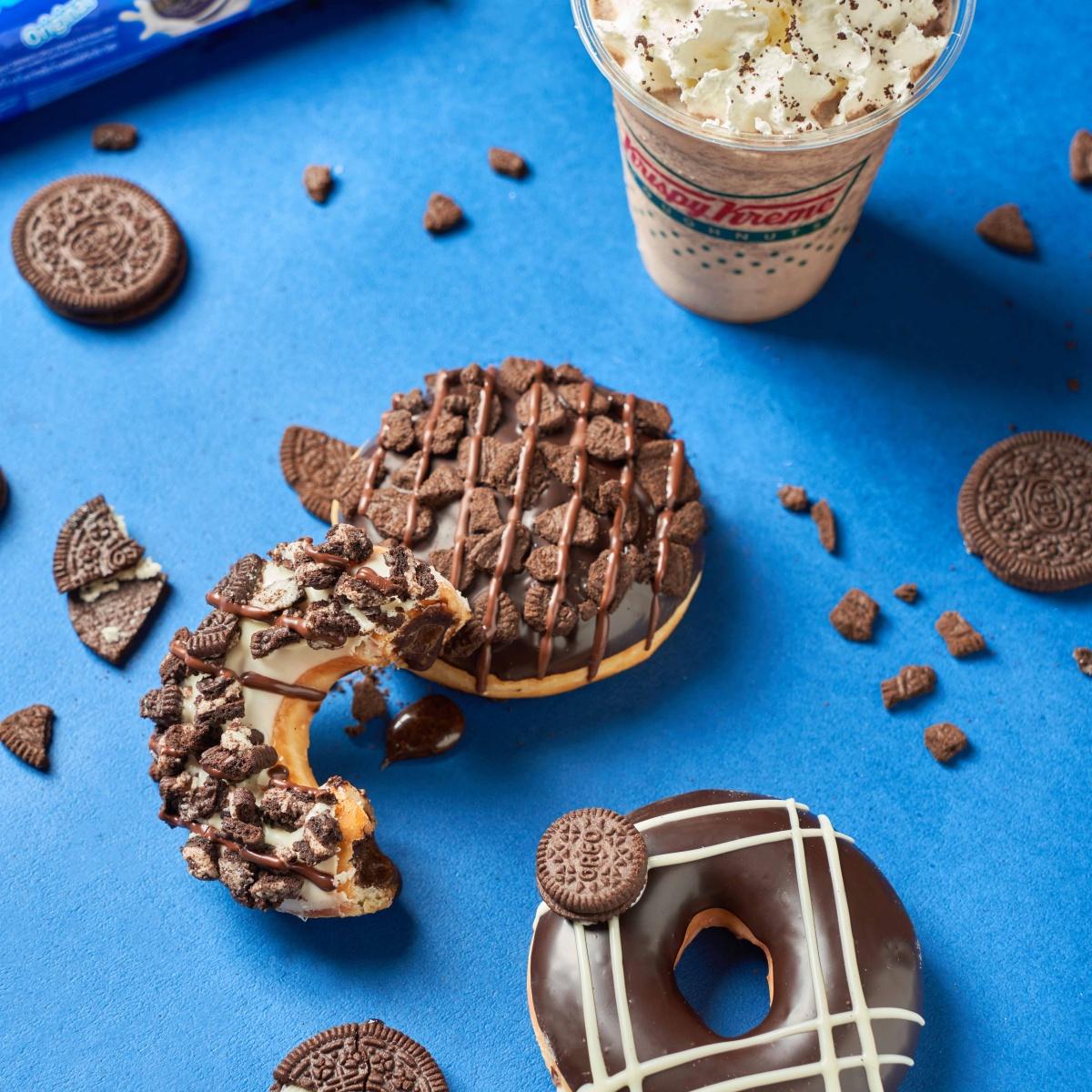買六送六來了!Krispy Kreme推「OREO甜甜圈」,OREO餅乾碎+卡士達夾心太邪惡