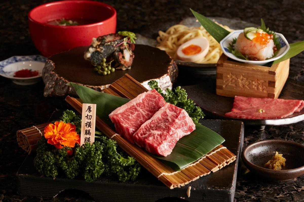 【新開店】老乾杯「玻璃屋燒肉店」全單9折!「和牛厚切橫隔膜、烏魚子溏心蛋」必吃