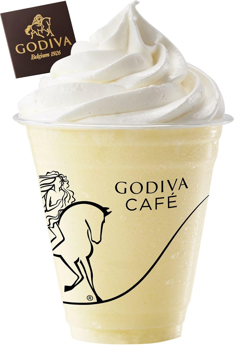 GODIVA「椰子鳳梨霜淇淋」新登場!濃郁椰奶+可可脆片太犯規,再喝椰子鳳梨奶昔
