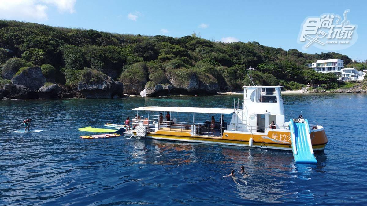 包船爽玩!「海上樂園」SUP、巨型溜滑梯通通有,水水IG必拍獨家「飄浮魔毯」