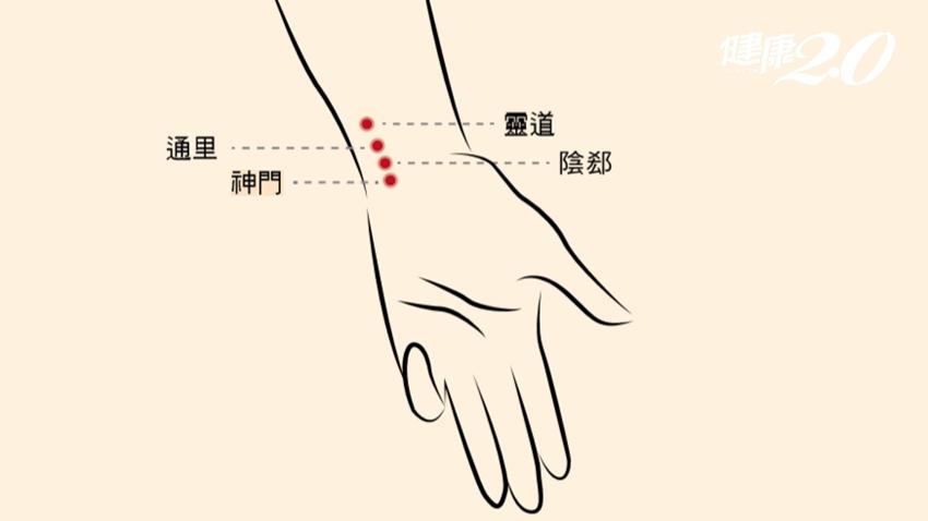 失眠要按「好眠穴」!手腕1穴位 助眠、護心、調節自律神經