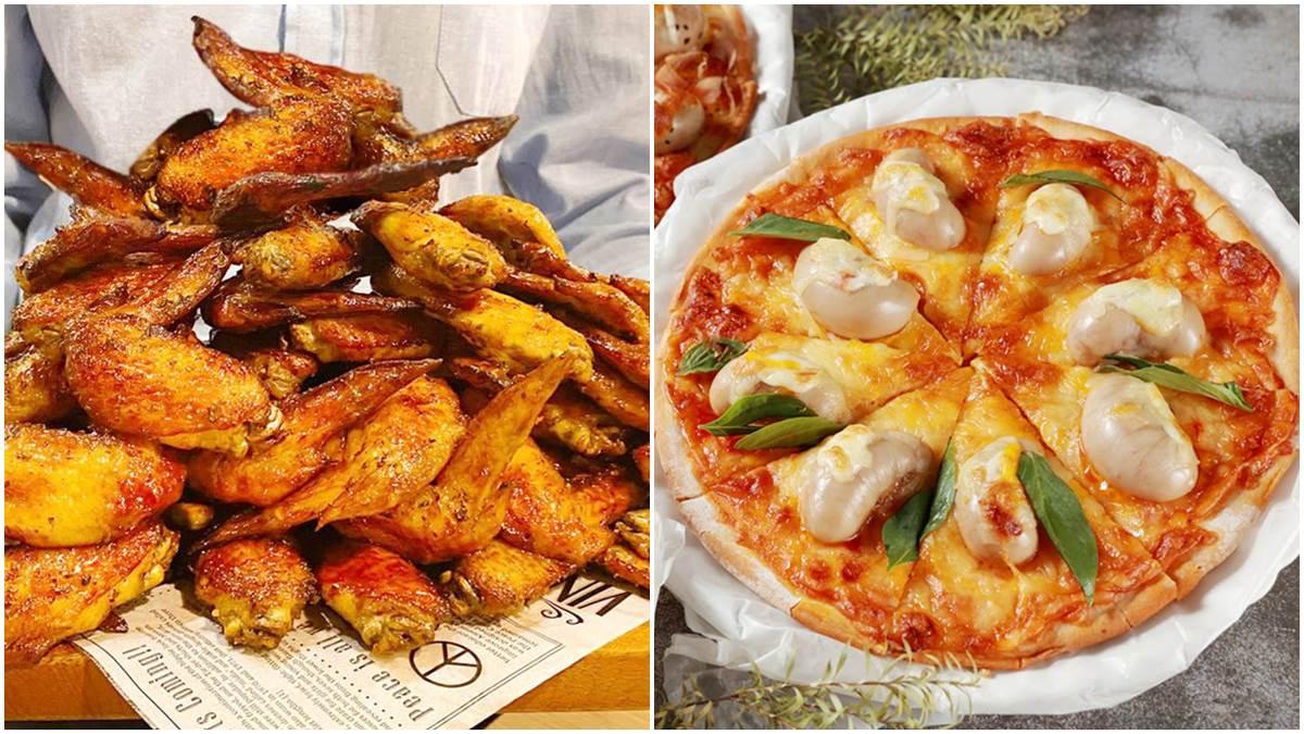 「巨型雞佛披薩」插旗新北!當月壽星「雞翅轟炸」,幾歲生日送幾隻