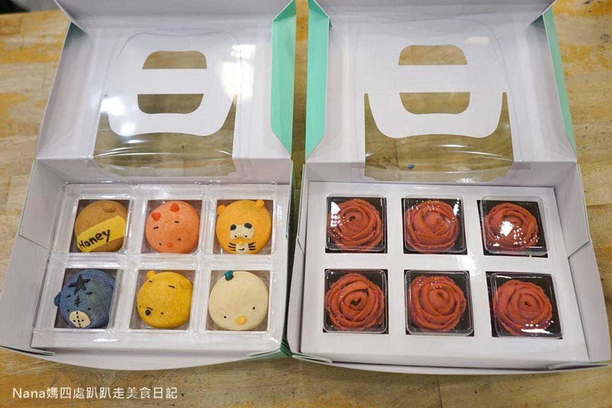 中秋送禮新花樣!「卡通造型蛋黃酥」萌到捨不得吃,超浪漫「玫瑰花」吃貨女友會愛