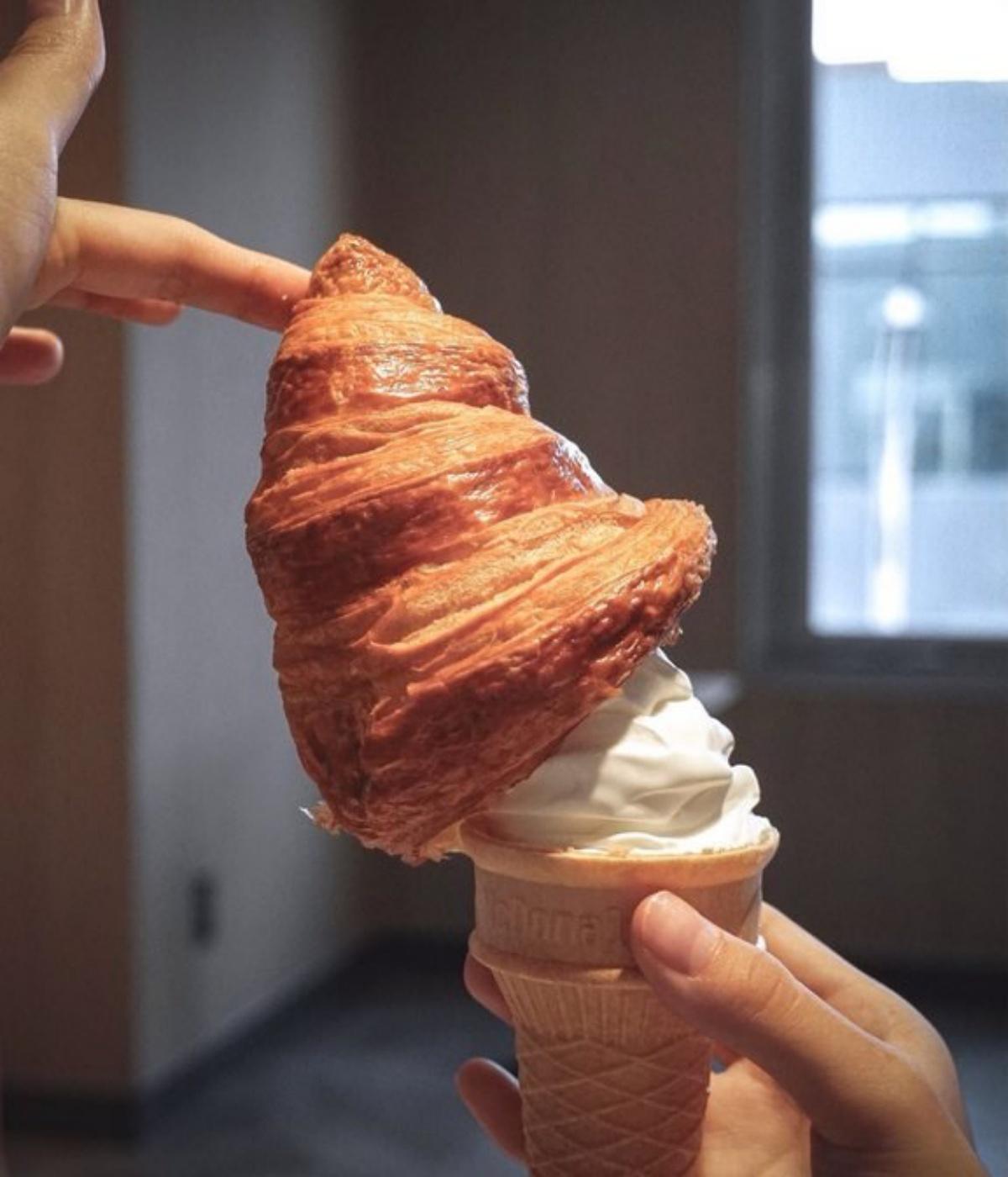 麥當勞也有「可頌冰淇淋」!店員曝2大隱藏版吃法,這樣搭秒變酥皮濃湯