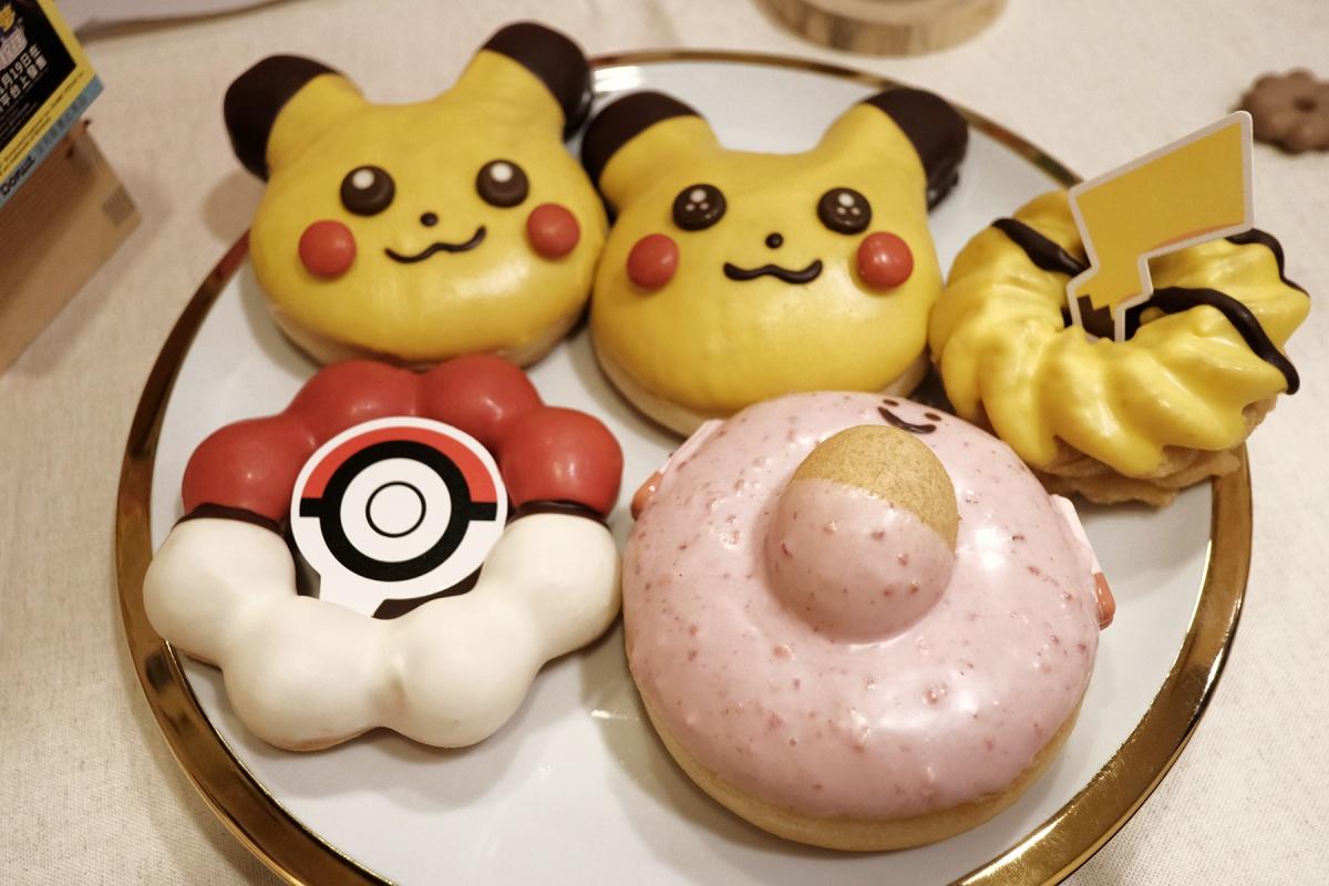 寶可夢大師準備收服!Mister Donut「皮卡丘、精靈球甜甜圈」萌暈,2款周邊可愛必收