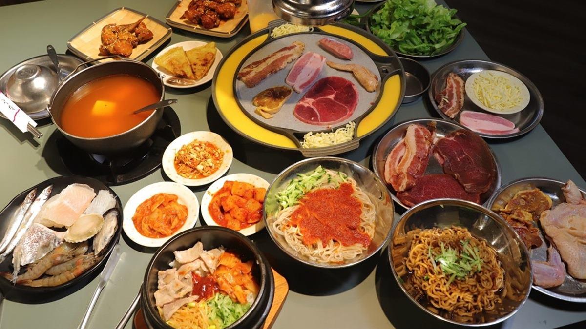 【新開店】CP值超高!道地「韓式烤肉+火鍋」吃到飽只要398元,先嗑Q嫩三層肉、辣拌麵