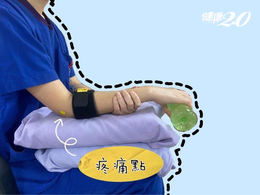 手肘痠痛無力!5招居家動作,緩解「網球肘」關節疼痛、強化肌力
