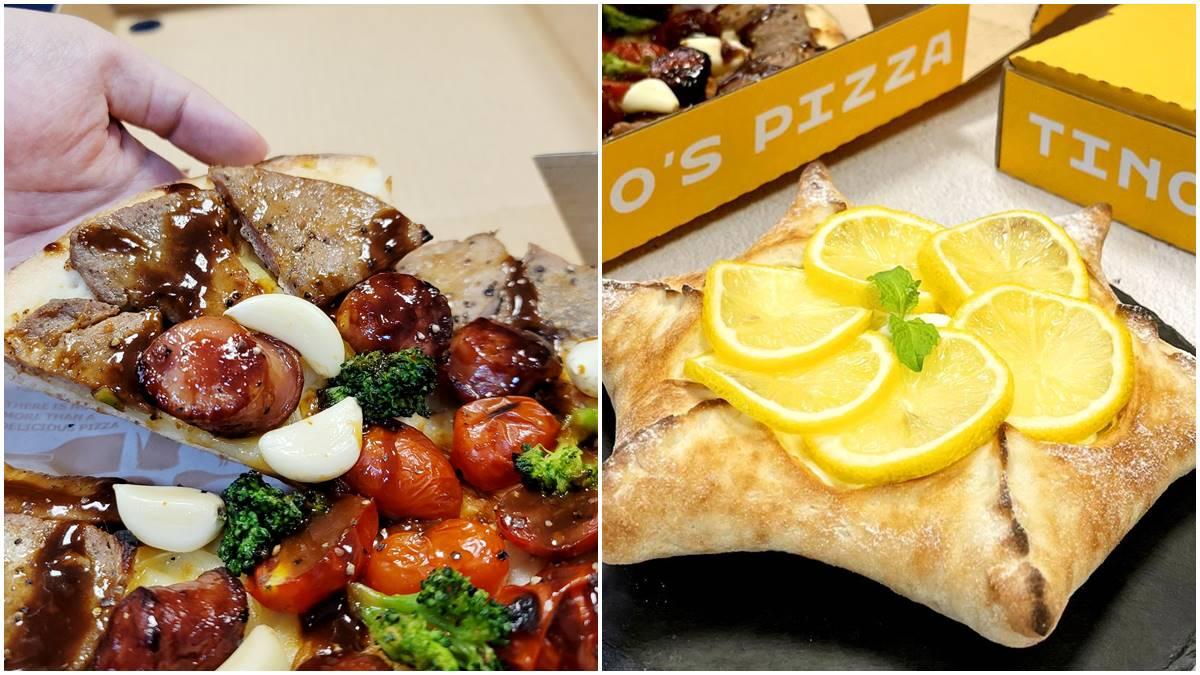 沒在理義大利人!披薩店推超狂「烤肉披薩」,再加碼吃酸甜「柚子星型披薩」