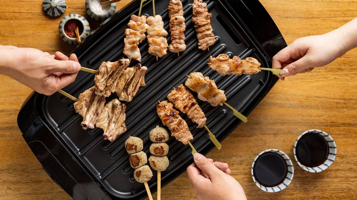 日本直送「燒鳥醬」!中秋最強「居家串燒組合」快搶,加千元再送限量電烤爐