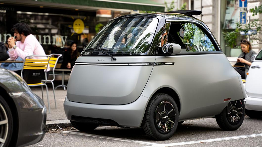 Microlino 2.0完整保留了BMW Isetta泡泡車原型設計,注入電動新科技賦予經典車新生命。(圖片來源/ Micro) BMW泡泡車重出江湖? Microlino 2.0神複製Isetta萌翻IAA