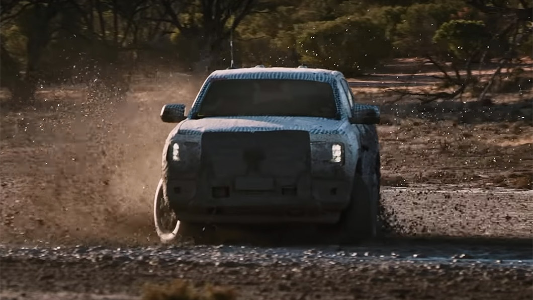 Ford原廠釋出新世代Ranger的預告影片,顯示在多種艱困地形中的越野能力。(圖片來源/ Ford) 新世代Ford Ranger曝光! 這個越野實力好像有點誇張