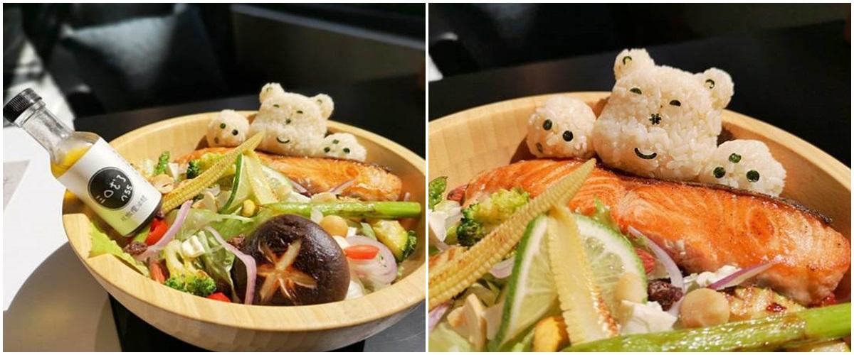 台中美拍森林系早午餐!呆萌法鬥陪你吃,「泡澡咖哩」「小熊沙拉」超Q秒療癒