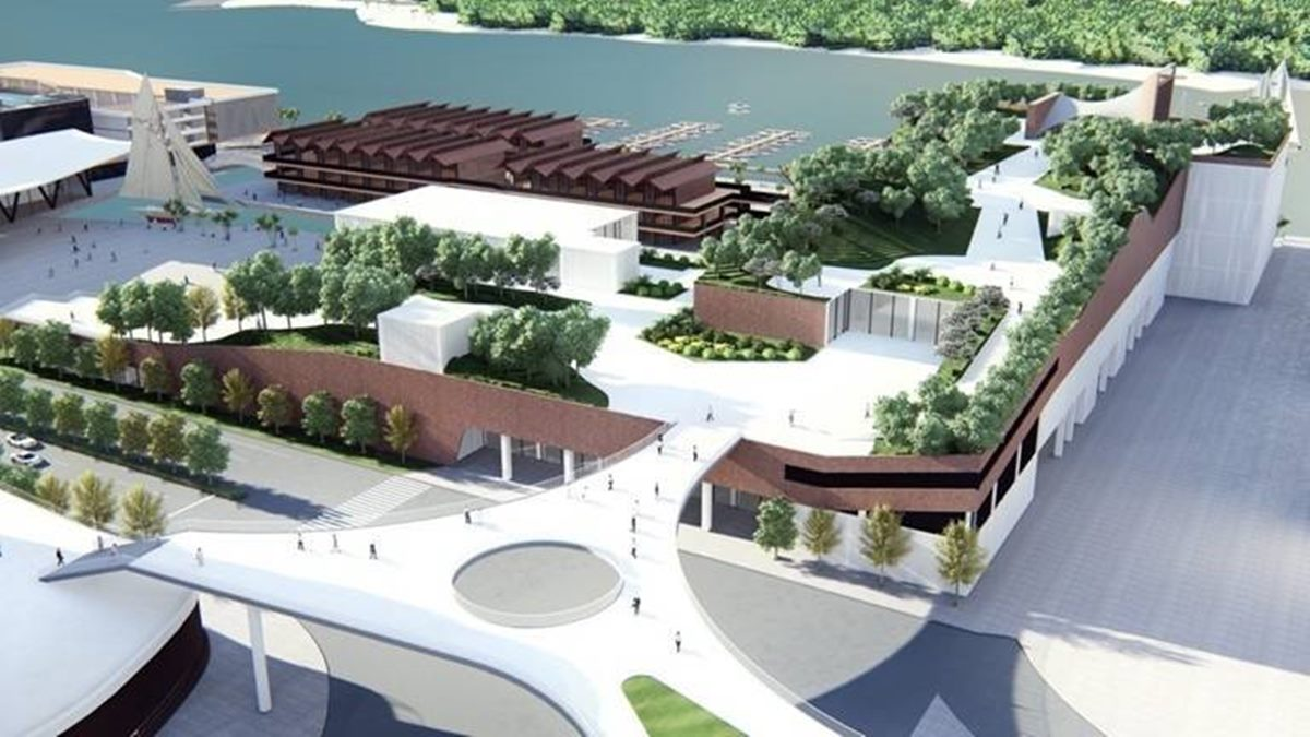 秒飛國外「海洋度假城」在台南!16公頃園區逛海洋影城、荷蘭小鎮,還有城市型水族館