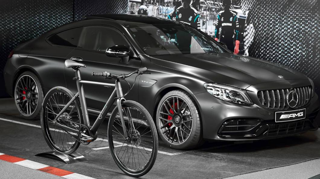 Mercedes-AMG N+電動自行車最入門款只要1,990美元(約5.5萬新台幣)。(圖片來源/ Mercedes-AMG) M-AMG也有兩輪版本 只要台幣5.5萬讓你騎AMG上路