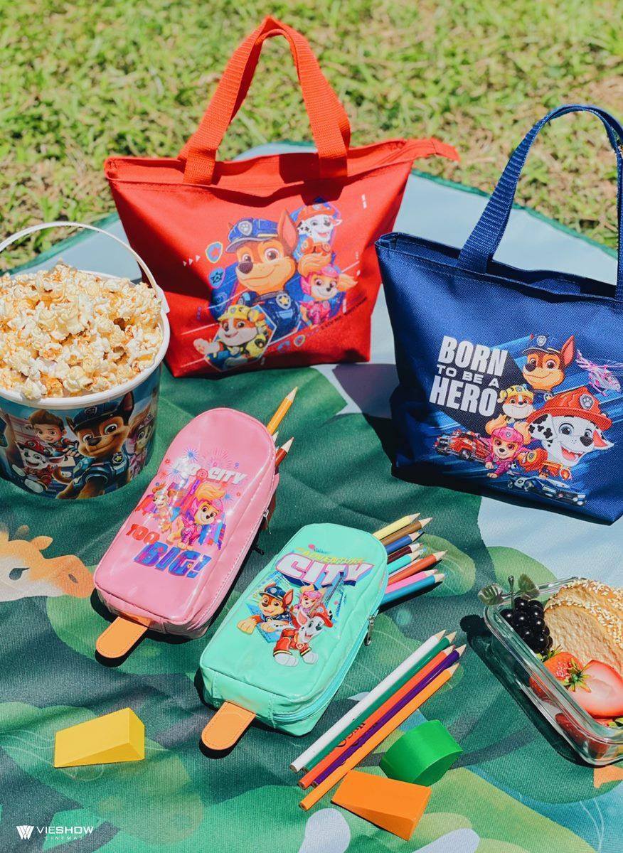 想要勇敢的狗狗!威秀最新「汪汪隊」2款套餐組,超萌冰棒包、大容量午餐袋粉絲必收