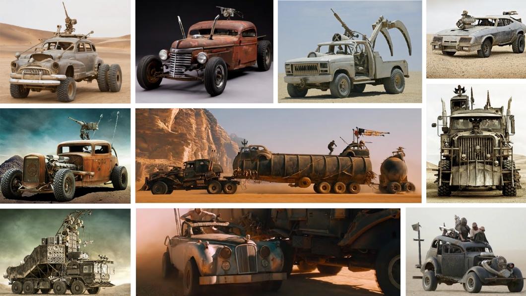 《瘋狂麥斯:憤怒道》電影當中有13輛車要進行拍賣,不過一次就要買全部13輛車真的有點驚人。(圖片來源/ Lloyds Classic Car Auctions-Asia Pacific) 瘋狂麥斯車輛大拍賣! 但一次就要買下13輛真的太瘋狂