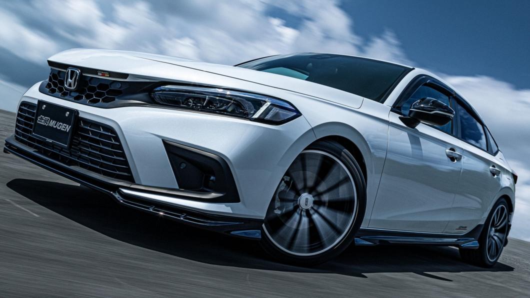 最新的Honda Civic在搭配上Mugen套件之後更有運動風格。(圖片來源/ Mugen) Honda Civic搭配Mugen無限套件就是帥! 台灣未來可能引進?