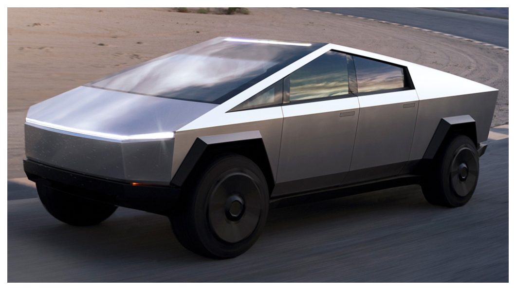Cybertruck原型車2019年現身時並沒有前擋雨刷,也讓人合理認為特斯拉雷射雨刷專利將用在這輛皮卡身上!(圖片來源/ Tesla) 雷射不只除斑還能清車子! 特斯拉黑科技雷射雨刷專利准了