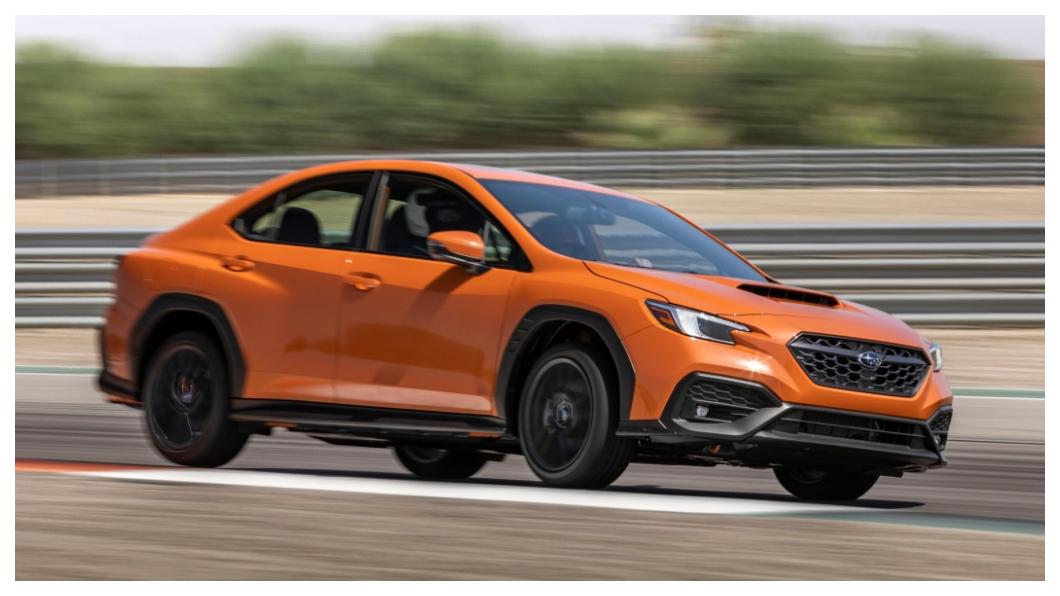 新一代Subaru WRX外觀上增添更多防刮材質點綴,也跟跨界風格沾上一點關係。(圖片來源/ Subaru) WRX也搞跨界風? 全新大改款動力只加3匹外觀更多拉力風格