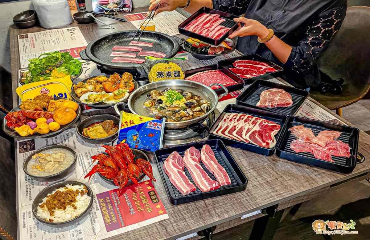 最低只要299元!南部8家高CP值燒烤吃到飽:整隻波士頓龍蝦、百種食材選擇