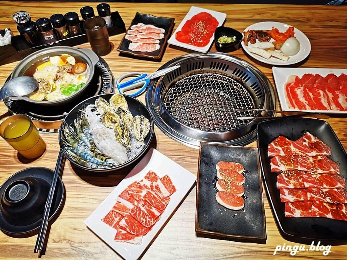 超澎派!中部6家高CP值燒烤吃到飽:爽嗑150種食材、現撈泰國蝦、頂級和牛