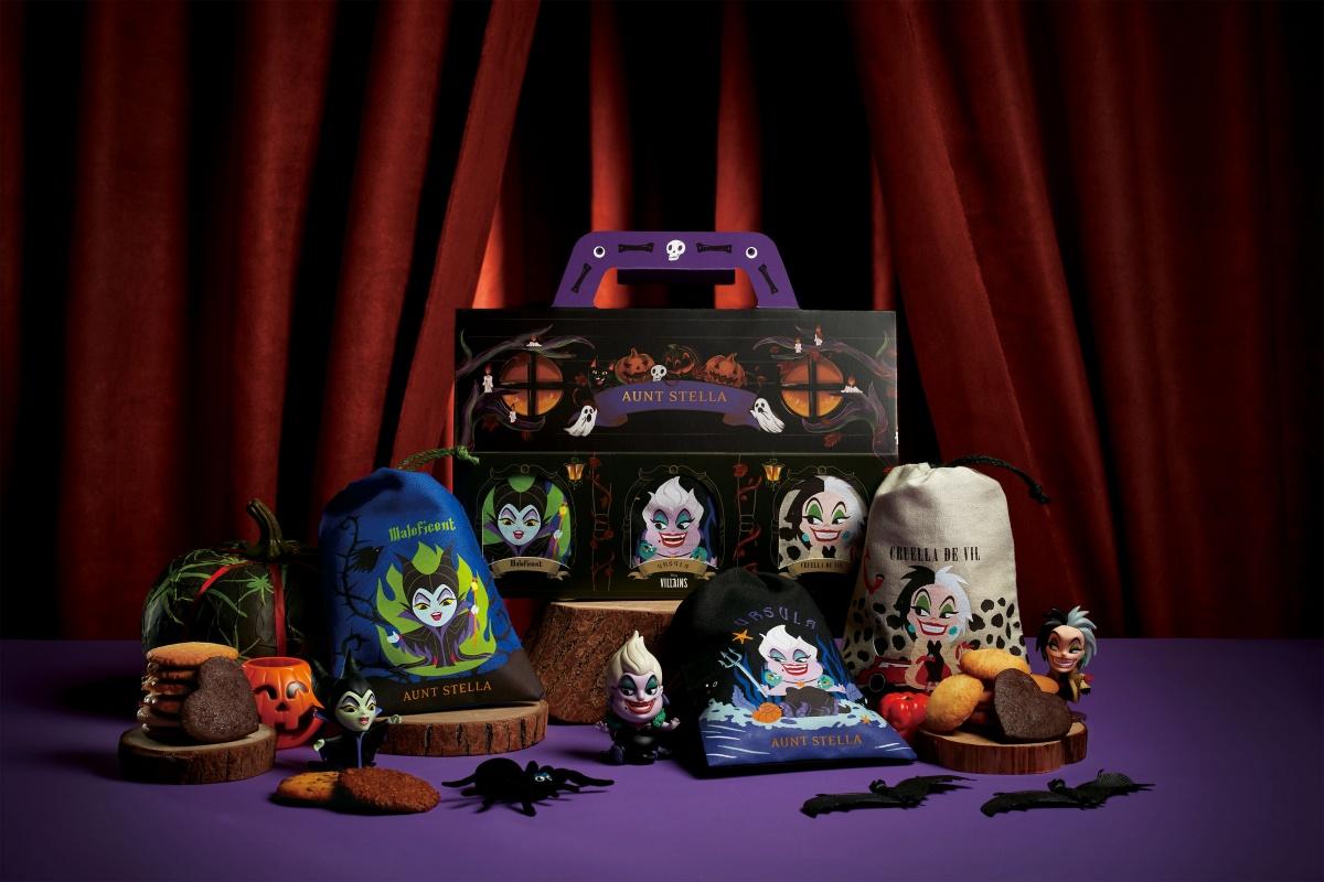 詩特莉「迪士尼反派」束口袋限量開賣!黑魔女、烏蘇拉、庫伊拉Q版萌翻