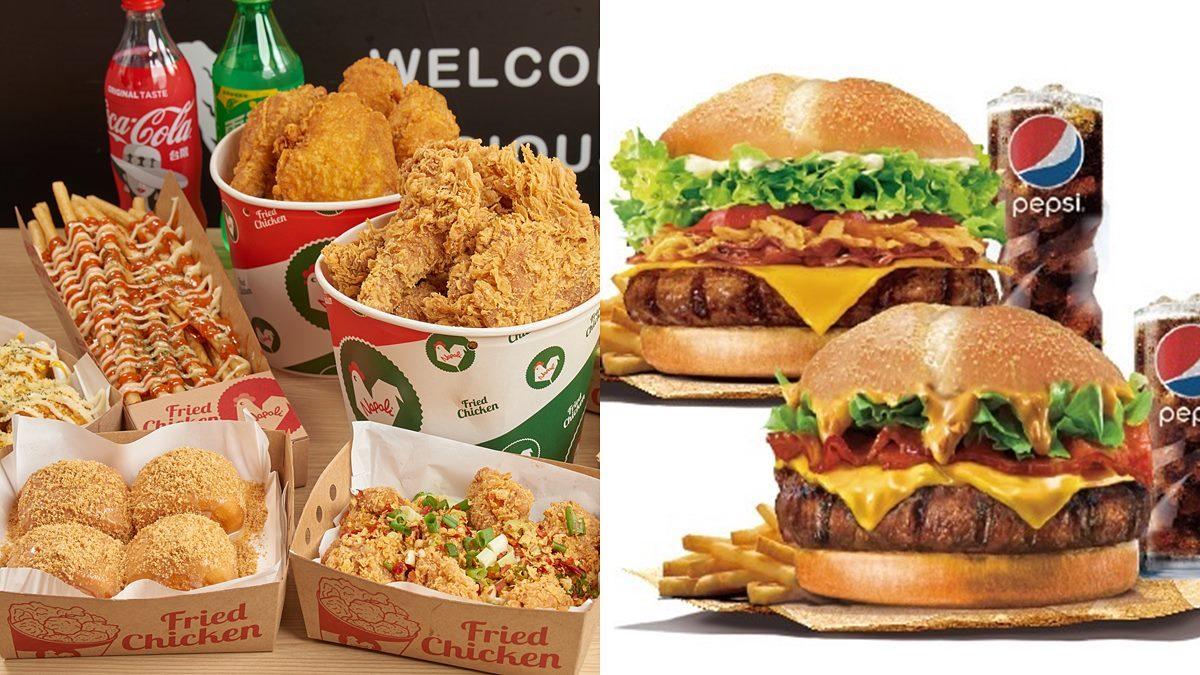 2大速食店快閃好康!拿坡里炸雞「戰斧雞腿桶」近半價,漢堡王整週買一送一