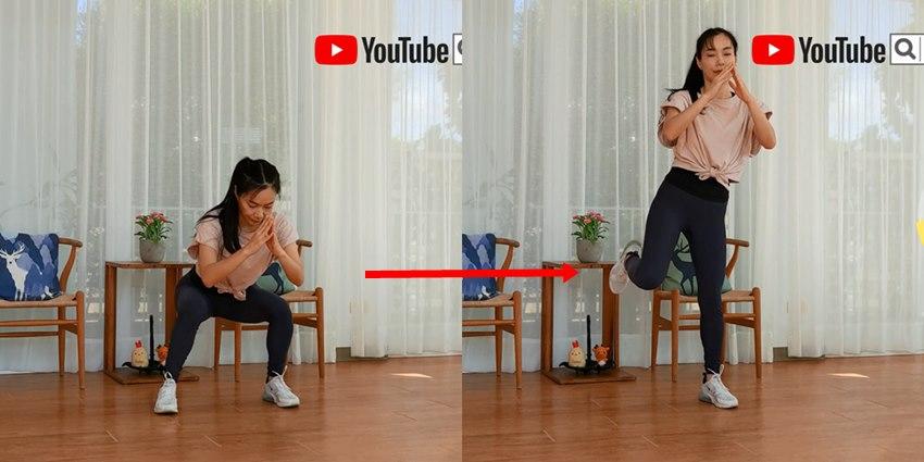 不用器材在家練肌力!11種「深蹲變化」低衝擊,不跳不傷膝蓋、下肢更有力