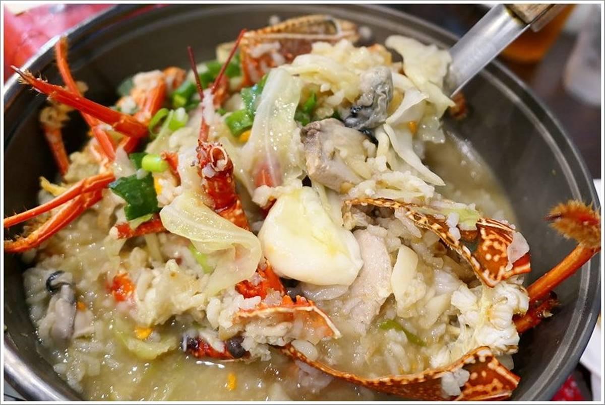小琉球人帶路!霸氣海鮮餐廳必吃隱藏版「龍蝦粥」,鹽酥鬼頭刀大人小孩都愛