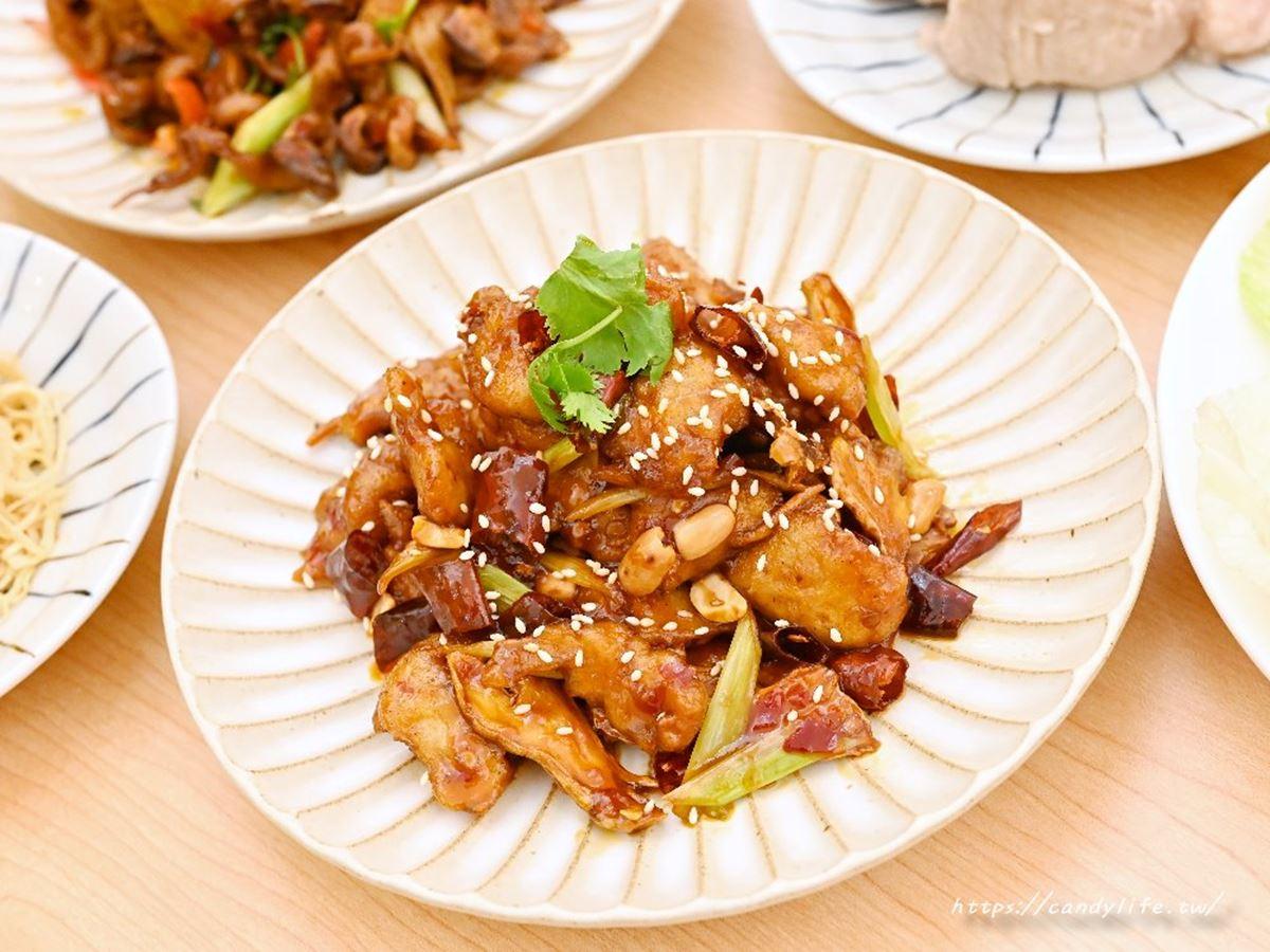 【新開店】素食者福音!台中蔬食餐廳必嘗「特製雞丁」,冰心芋頭晚來吃不到