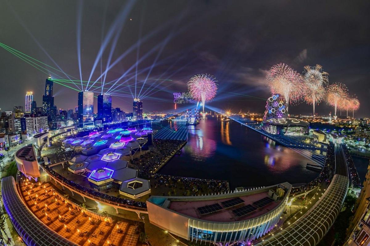 史上最壯觀「國慶煙火」在高雄!360度環港施放,採預約制、限2萬人入場
