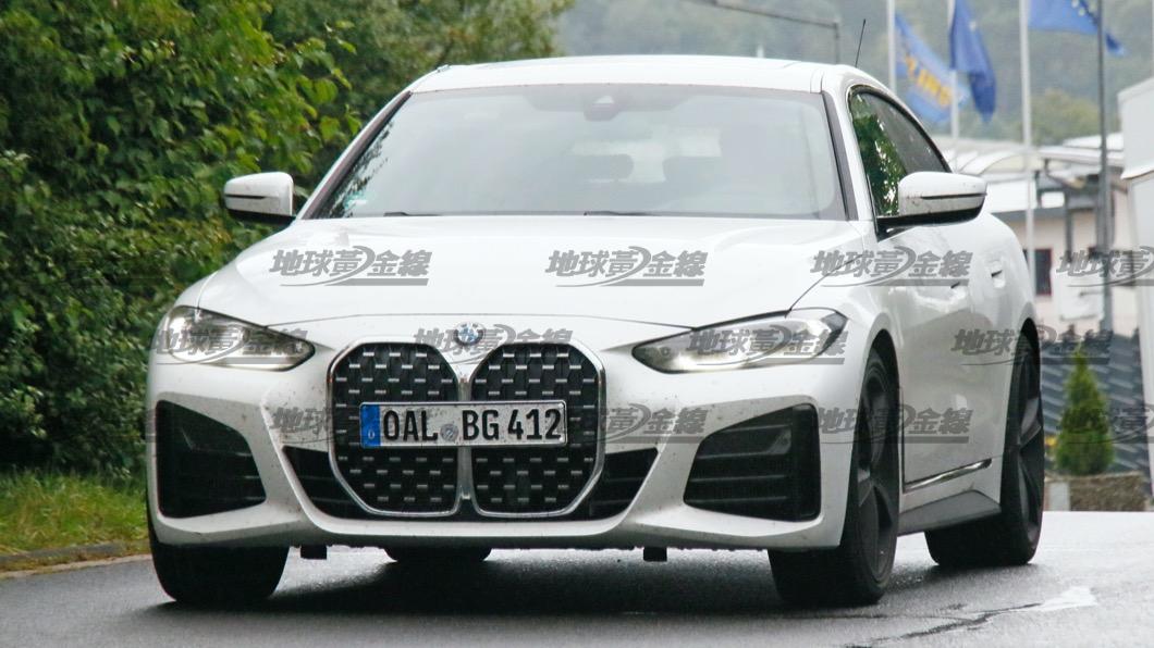這次被捕捉到的B4 Gran Coupe雖然在外觀方面和一般的M440i xDrive似乎沒有太大區別。(圖片來源/ TVBS) 搶先間諜照/Alpina B4 Gran Coupe首度捕獲! 馬力直逼462匹